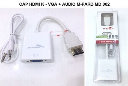 Cáp HDMI sang VGA + Audio M-Pard MD002