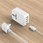 Ổ cắm điện đa năng kèm HUB USB 4Port ORICO S4U-TUS