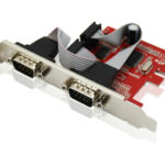 Card PCI sang 2 Port RS232 (COM 9) UNITEK Y-7504