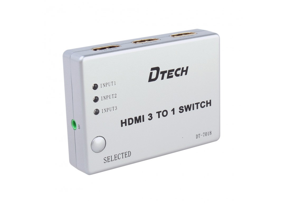 SWITCH HDMI 3 – 1 DTECH (DT – 7018)