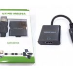 CÁP DISPLAYPORT -> HDMI KINGMASTER (KY-D 251B)