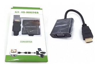 CÁP HDMI -> VGA KINGMASTER (KY-H 121B)