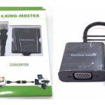 CÁP MICRO HDMI -> VGA KINGMASTER (KY-H 123B)