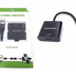 CÁP MINI DISPLAYPORT -> HDMI KINGMASTER (KY-M 362B