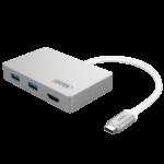 HUB USB 3.1 ra 3 cổng USB +1 cổng HDMI  + 1 cổng sạc TYPE C