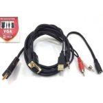 CÁP VGA + AUDIO -> HDMI (KY-V 552B)