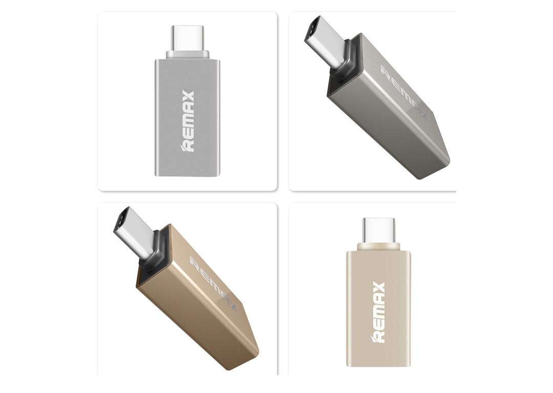 ĐẦU ĐỔI USB 3.0 -> TYPE C REMAX (RA-OTG1)