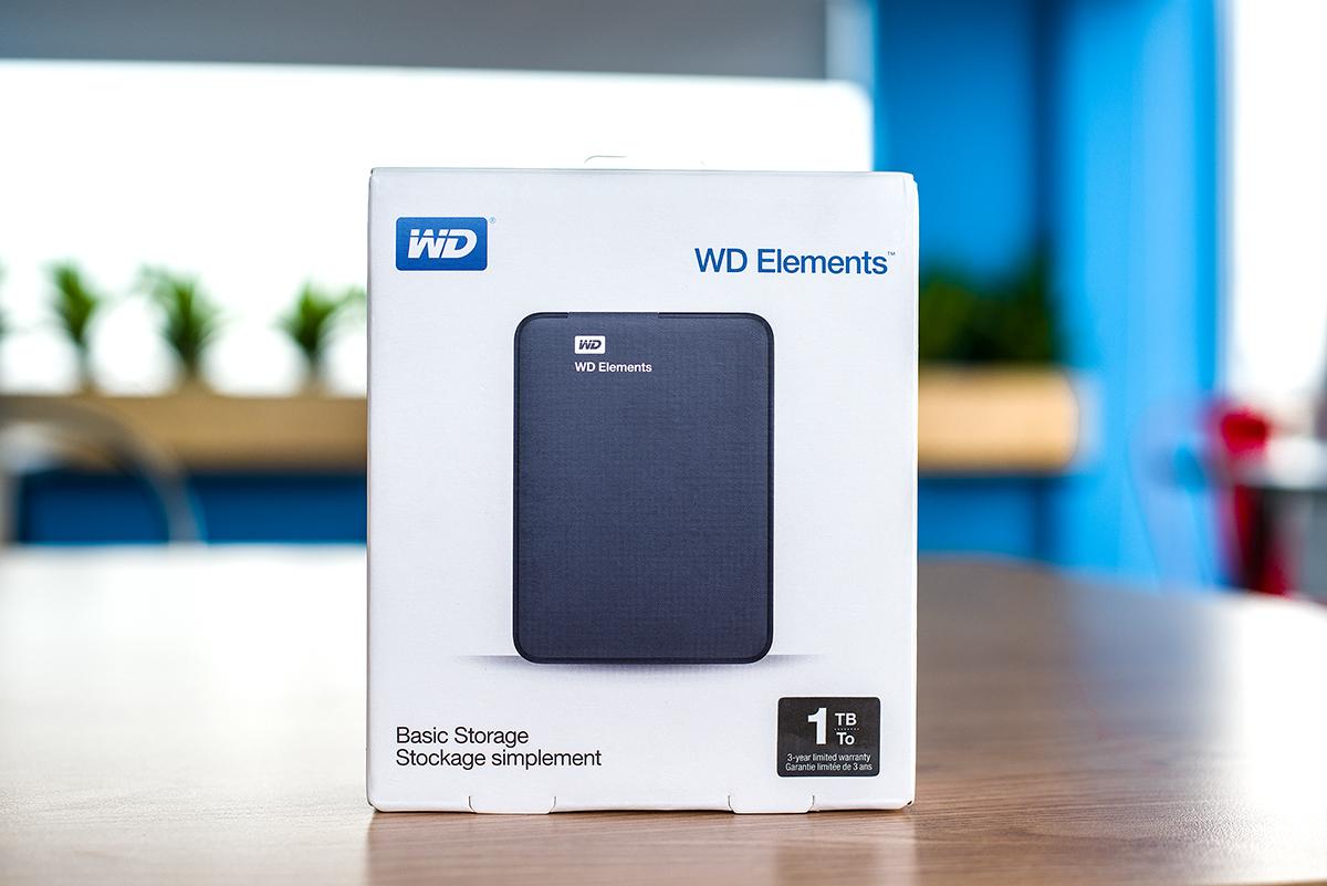 Ổ cứng di động WD Elements 1TB 2.5 usb 3.0 – WDBUZG0010BBK