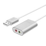 USB To Sound Stereo Audio UNITEK Y247A