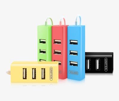 HUB chia cổng USB 1 ra 4 chính hãng UNITEK Y2140