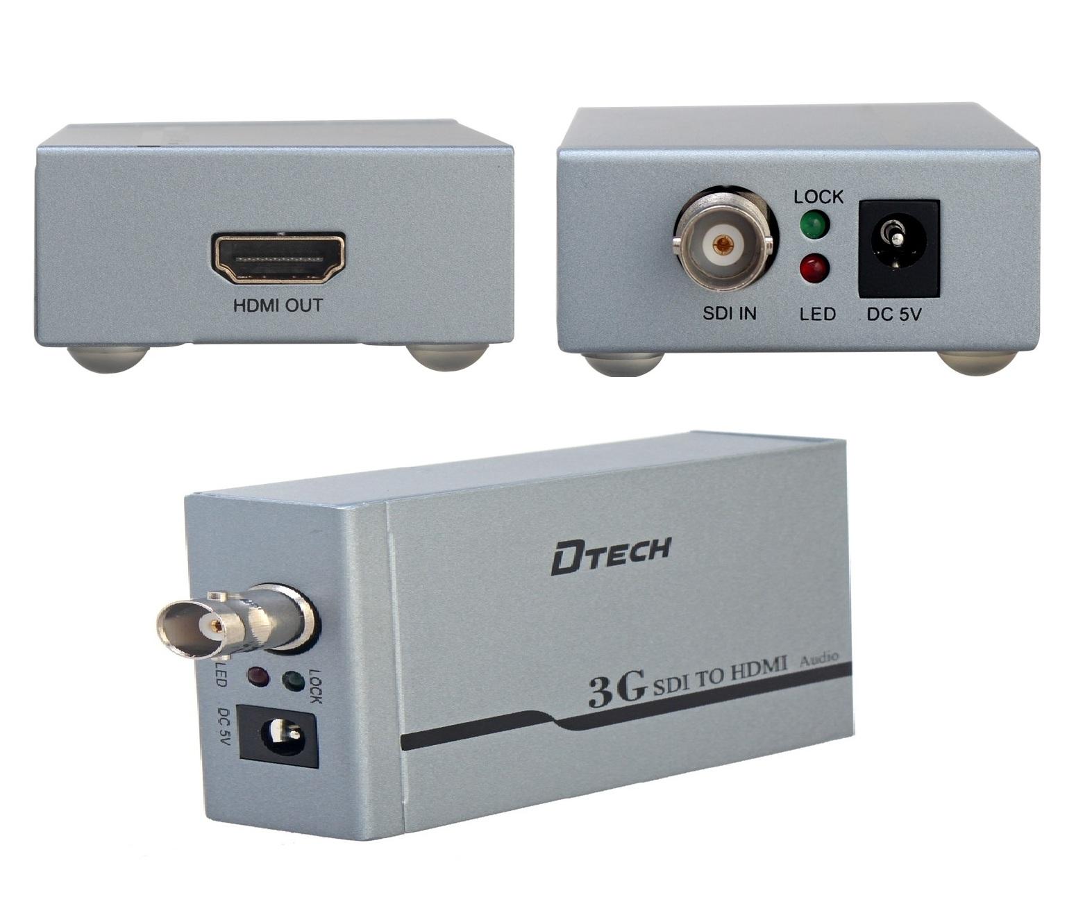DTECH DT-6514A SDI TO HDMI CONVERTER
