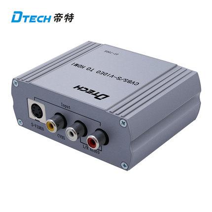 Bộ chuyển đổi AV, S-video sang HDMI Dtech DT-7005
