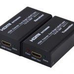 HỘP NỐI DÀI HDMI -> LAN 60M FJGEAR (FJ-HEA60)