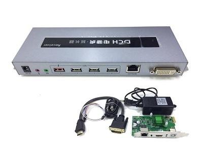 BỘ CHUYỂN ĐỔI + CARD -> DVI/LAN/USB/AUDIO DHC 4K DTECH