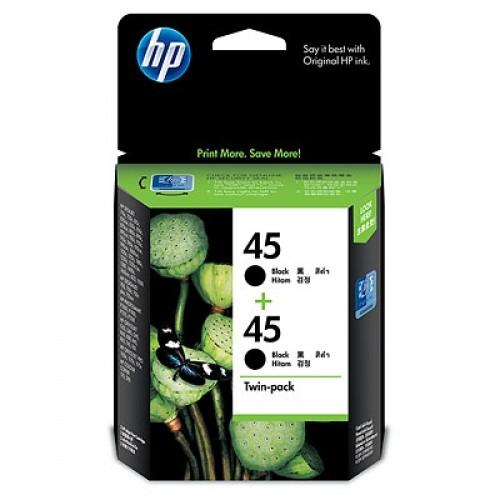 Mực in HP CC625A (HP 45A 2hộp Black) Chính hãng HP