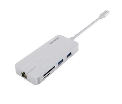 TYPE-C -> 2 USB 3.0 + USB 2.0 + HDMI + LAN + TF/SD LENOVO (C106SL)