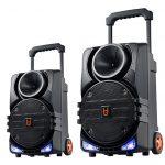 LOA + MICRO UHF USB/TF/BT LED BD (H0863YS)