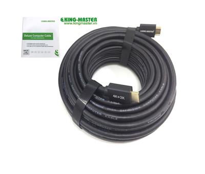 Cáp HDMI V2.0 20m Kingmaster KH206