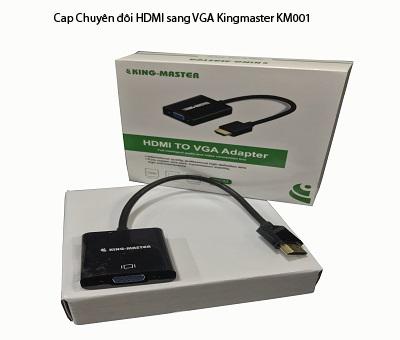 Cáp chuyển đổi HDMI sang VGA Kingmaster KM001