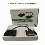 Cáp DVI 24+1 sang VGA kingmaster KM002