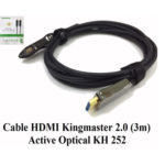 Cáp HDMI 2.0/4k 3M ACTIVE OPTICAL KINGMASTER (KH252)