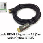 Cáp HDMI 2.0/4k 5M ACTIVE OPTICAL KINGMASTER (KH253)