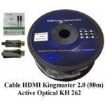 CÁP HDMI 2.0/4K – 80M ACTIVE OPTICAL KINGMASTER (KH262)