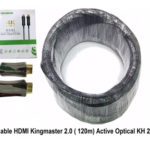Cáp HDMI 2.0/4k 120M ACTIVE OPTICAL KINGMASTER (KH265)