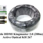 Cáp HDMI 2.0/4k 200M ACTIVE OPTICAL KINGMASTER (KH267)
