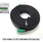 CÁP HDMI 2.0 – 20M KINGMASTER (KH226)