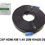 CÁP HDMI 1.4 – 20M KINGMASTER (KH426)