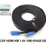 CÁP HDMI 1.4 – 15M KINGMASTER (KH425)