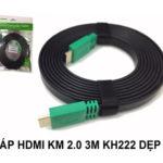 CÁP HDMI 2.0 – 3M KINGMASTER (KH222)