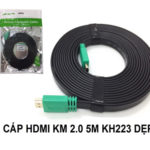 CÁP HDMI 2.0 – 5M KINGMASTER (KH223)