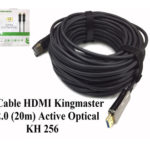 Cáp HDMI 2.0/4k 20M ACTIVE OPTICAL KINGMASTER (KH256)