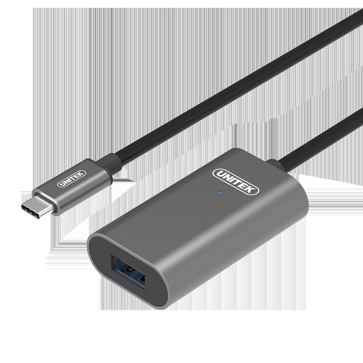 Cáp Nối dài USB type C sang USB 3.0 5M, UNITEK U304A