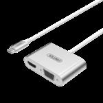 Bộ chuyển đổi  USB3.1 Type-C sang HDMI /VGA UNITEK Y-V100