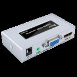 CHUYỂN ĐỔI VGA SANG HDMI DTECH DT-7004B