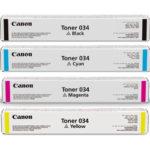 Mực in Canon Laser Toner 034 C/M/Y