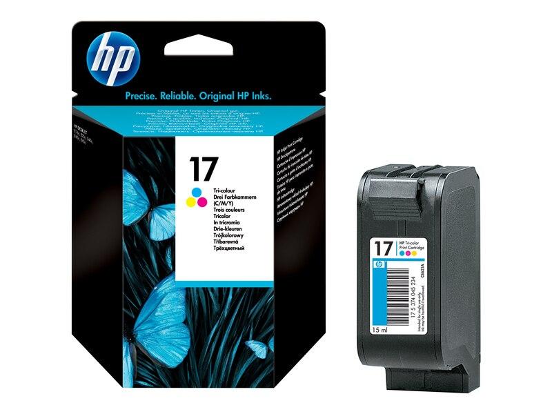 Mực in HP 17 Tri color (C6625A)