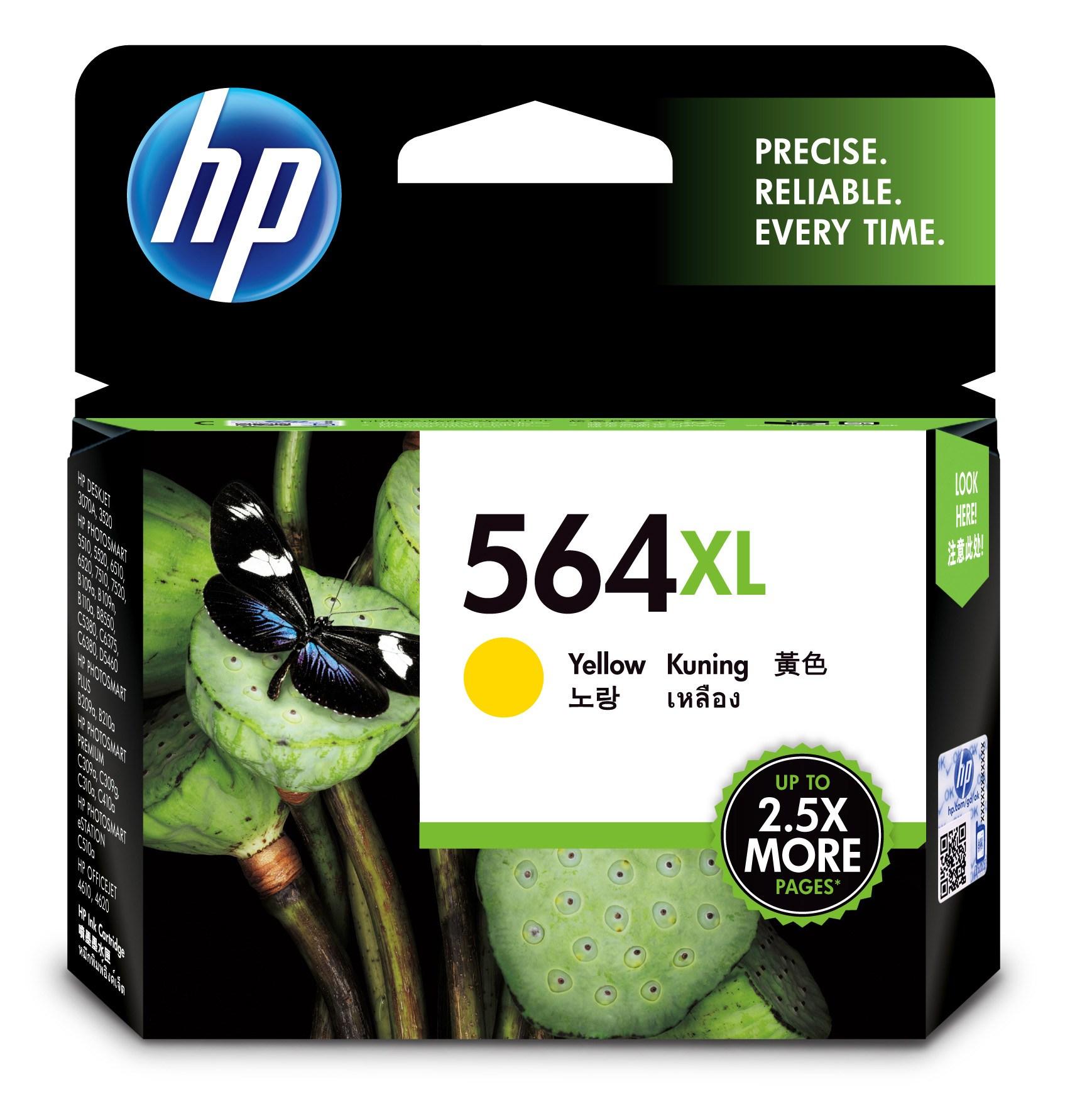 Mực in phun màu vàng hiệu suất cao HP 564XL (CB325WA)