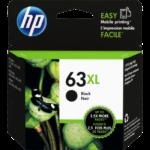 Mực in phun màu đen hiệu suất cao HP 63XL (F6U64AA)