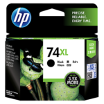 Mực in phun màu đen hiệu suất cao HP 74XL (CB336WA)