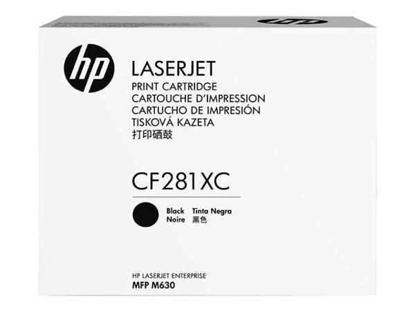 Mực in laser màu Đen hiệu suất cao HP CF281XC
