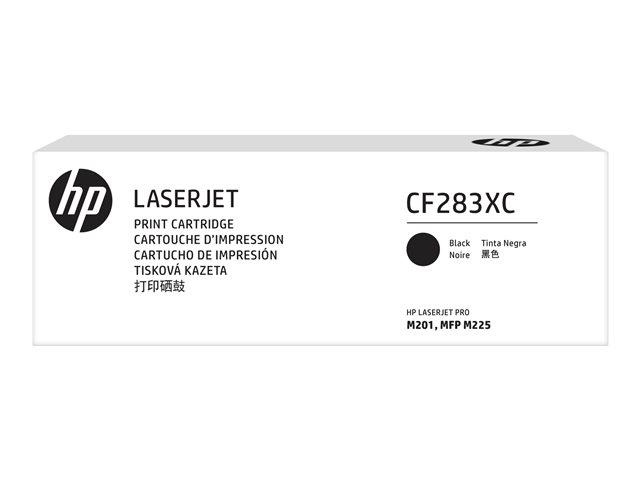 Mực in laser màu Đen hiệu suất cao HP83X (CF283XC)