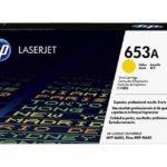 Mực in laser màu Vàng HP 653A (CF322A)