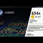 Mực in laser màu Vàng HP 654A (CF332A)