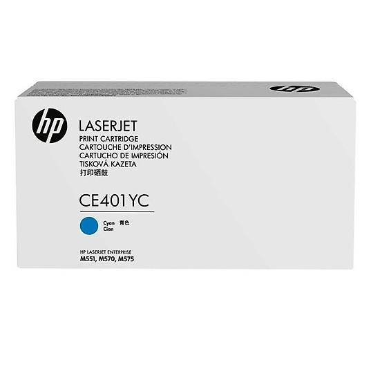 Mực in laser màu Xanh hiệu suất cao HP507X (CE401YC)
