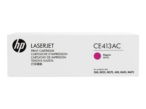 Mực in laser màu Hồng HP CE413AC
