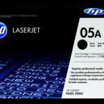 Giới thiệu về mực in HP 05A màu đen (CE505A) chính hãng dùng cho máy in HP P2035/P2055